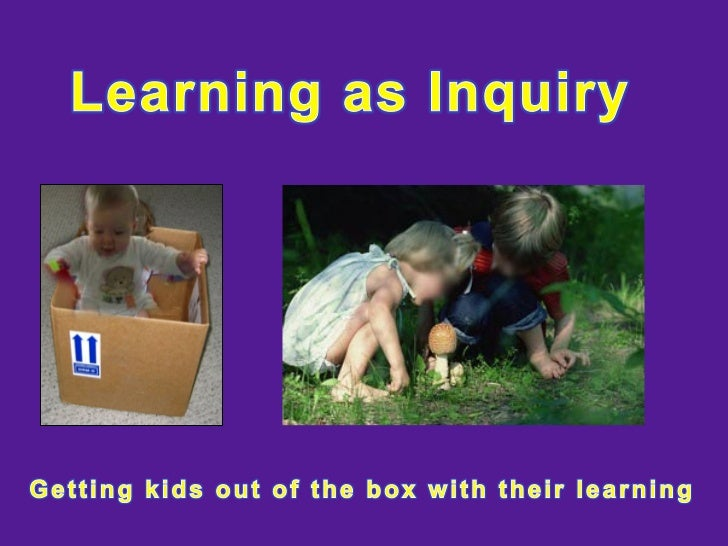 Learning as Inquiry Prt 2 yr1-4