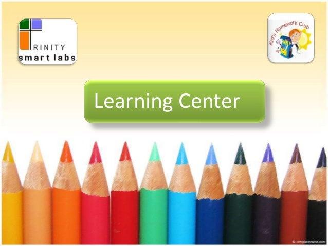 Learning center tsl