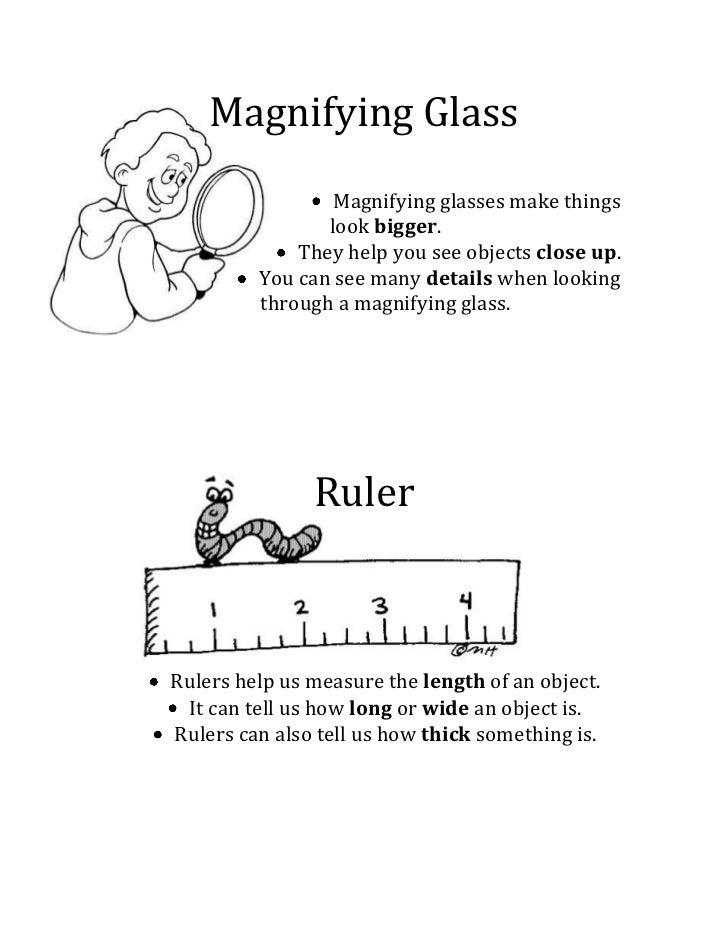 -685800228600Magnifying Glass<br /><ul><li>Magnifying glasses make things
