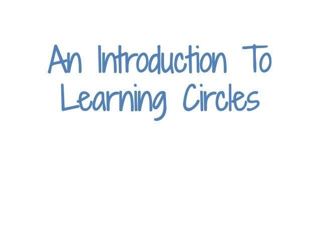 Learning circles