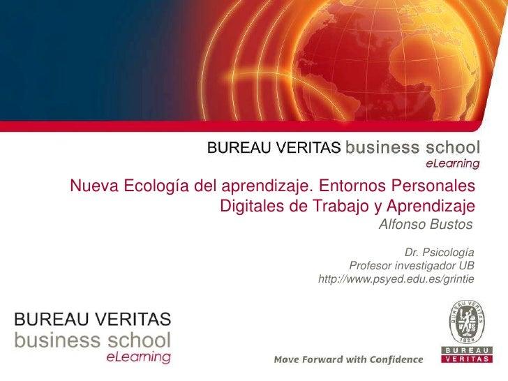 Nueva Ecología del aprendizaje. Entornos Personales                                      Digitales de Trabajo y Aprendizaj...