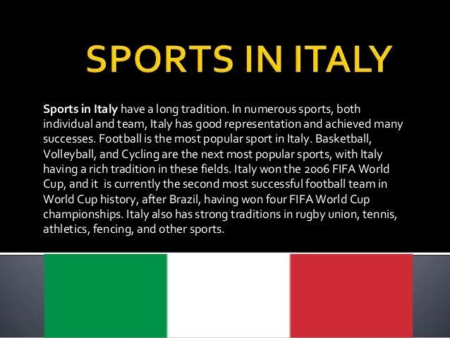 Learning europe italian sports