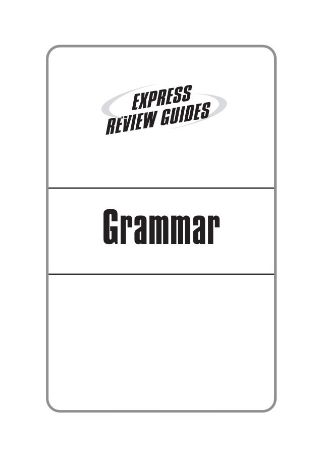 Learning express express review guides grammar   224p