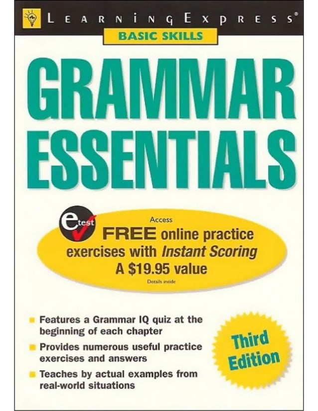 Learning express grammar essentials   225p