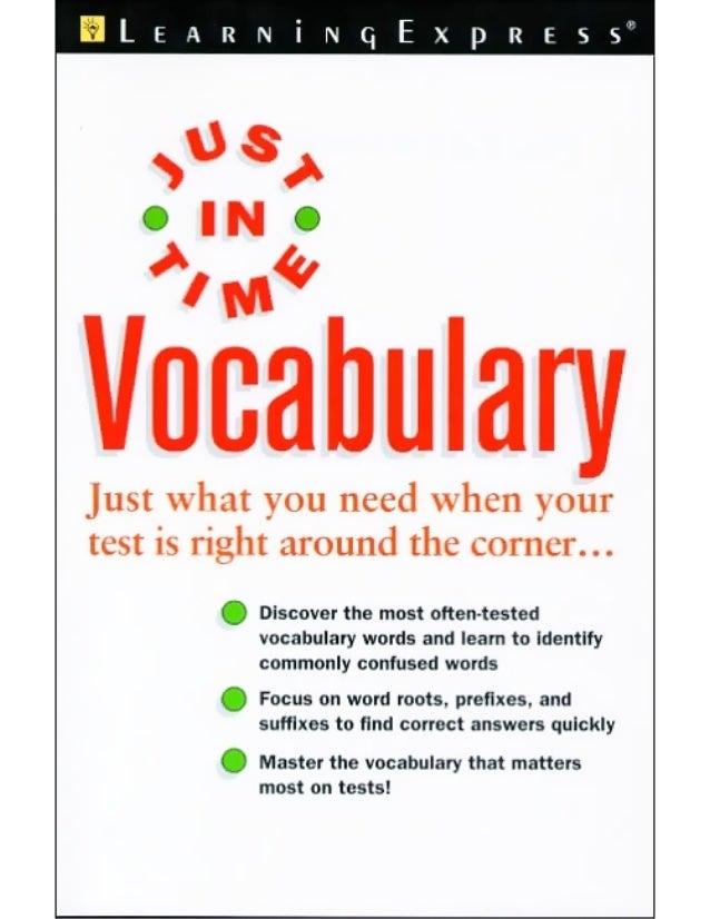 E  T  S JU T IN I M  Vocabulary Elizabeth Chesla  ®  ®  N E W YO R K