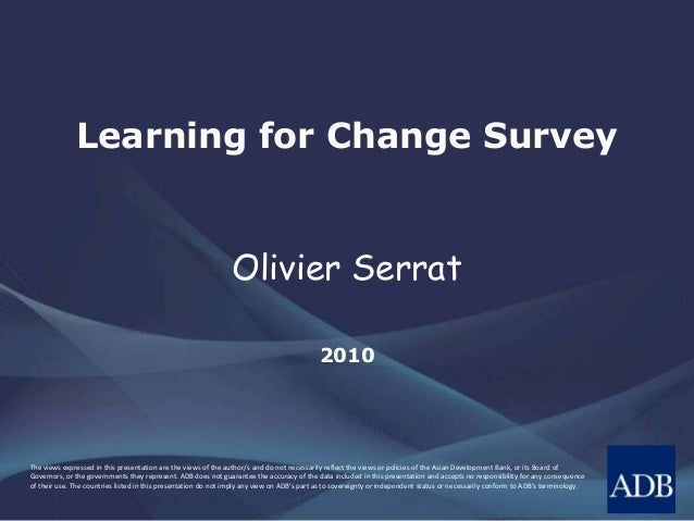 Learning for Change Survey
