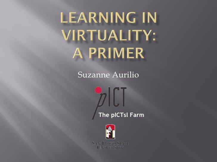 Learning In Virtuality 2010
