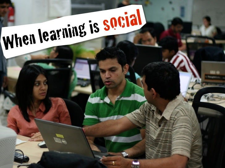 is socialWhe n learning