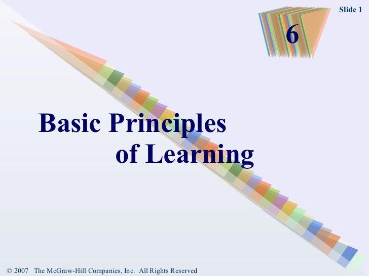 Learningl