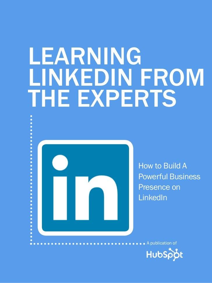 Aprendiendo Linkedin de los expertos