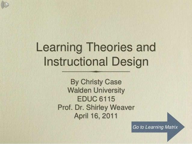 Learningmatrix learning theories