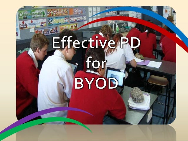 Effective PD for BYOD