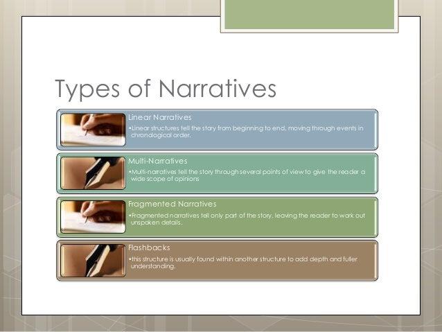 Kinds of narrative writing