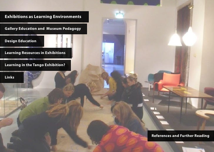 Exhibitions as Learning EnvironmentsGallery Education and Museum PedagogyDesign EducationLearning Resources in Exhibitions...