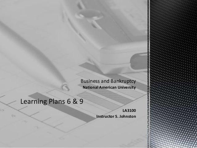 Learning plans 6 & 9