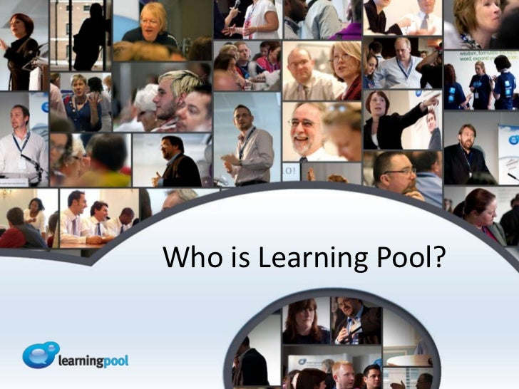 Who is Learning Pool?