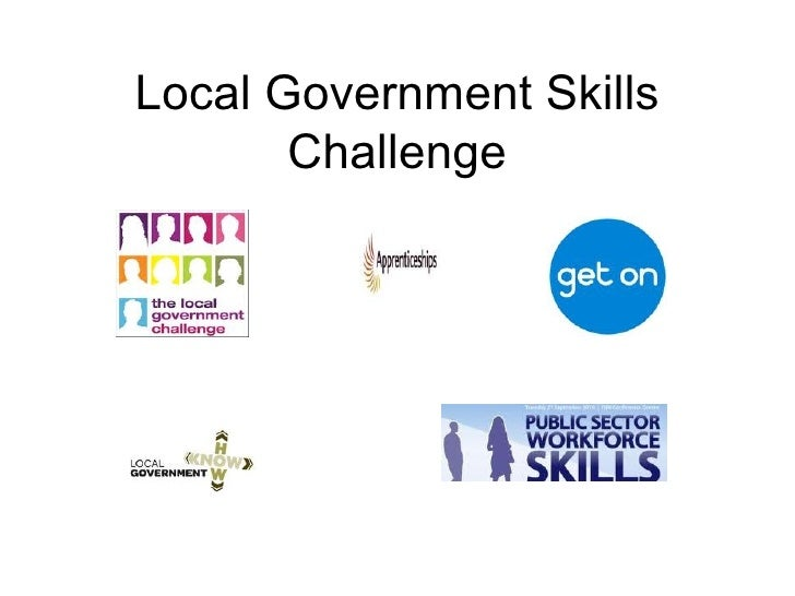 Local Government Skills Challenge