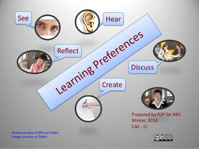 learning preferences The differences in cognitive performance play a huge role in learning preferences for example learning styles, cognitive skills, and brain training.