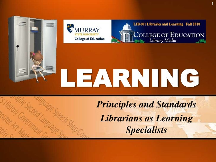 Learning principles 2007/2010 version