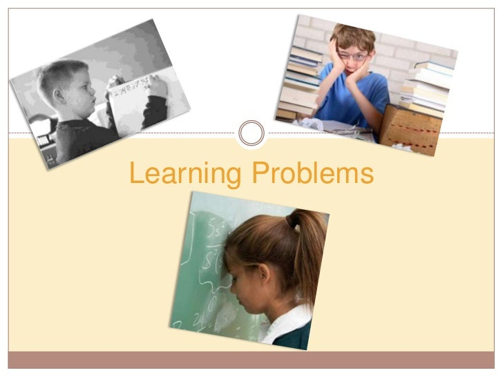 Learning problems