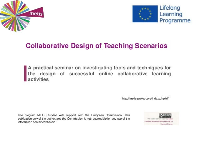 Collaborative Teaching Resources ~ Collaborative design of teaching scenarios