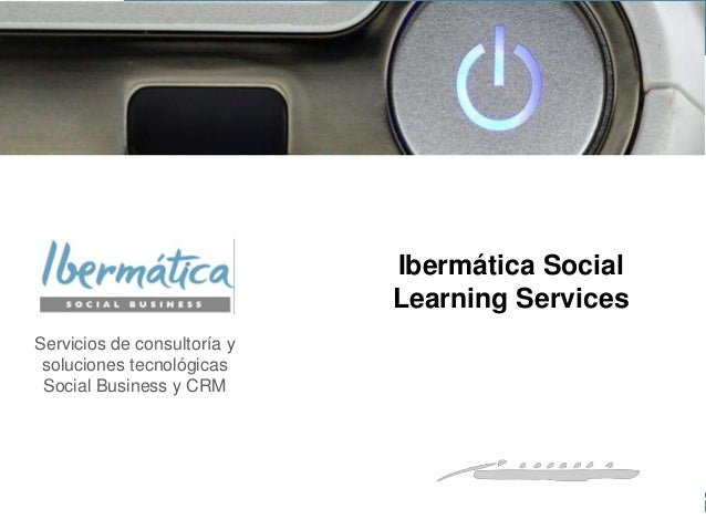 Ibermática Social Learning services