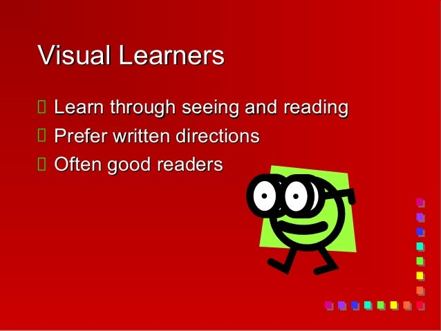 learning style assiginment Writing assignment #2 learning style & personality essay paragraph #1: look at your results on the learning styles inventory.