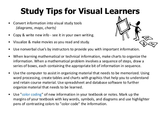 essay on visual learning style