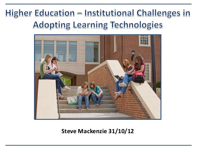 Learning technology Challenges