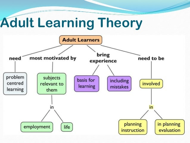 learning theory style domain and adult Adult learning: from theory to practice is an online course looks at current adult learning theory is on the intellectual or cognitive domain, to.