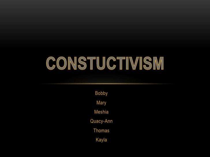 Bobby  Mary MeshiaQuacy-Ann Thomas  Kayla
