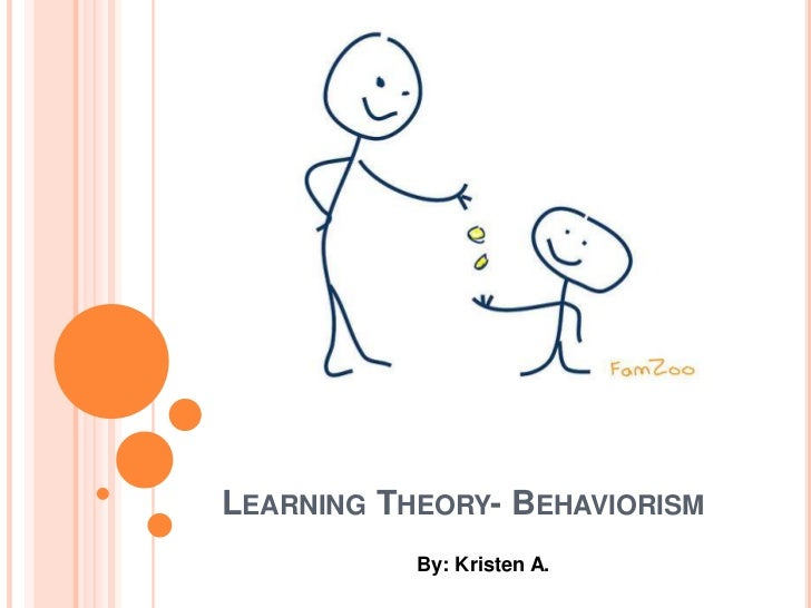Learning Theory- Behaviorism