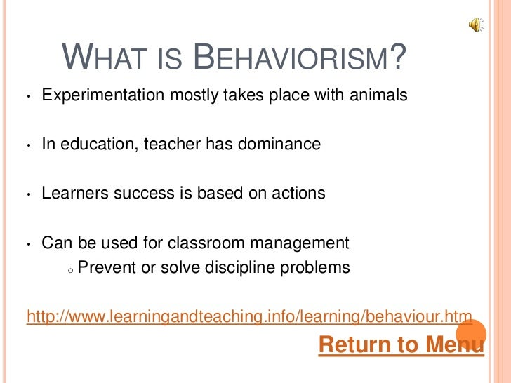 outline the behaviorist and biological model The biological model believes that all of the behaviourist approach from to comparing and contrasting different models of abnormality.