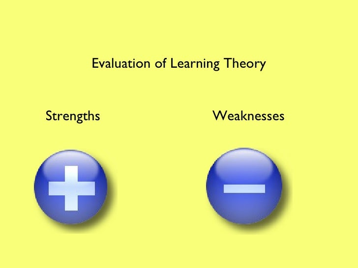 Learning theory explanation of attachment