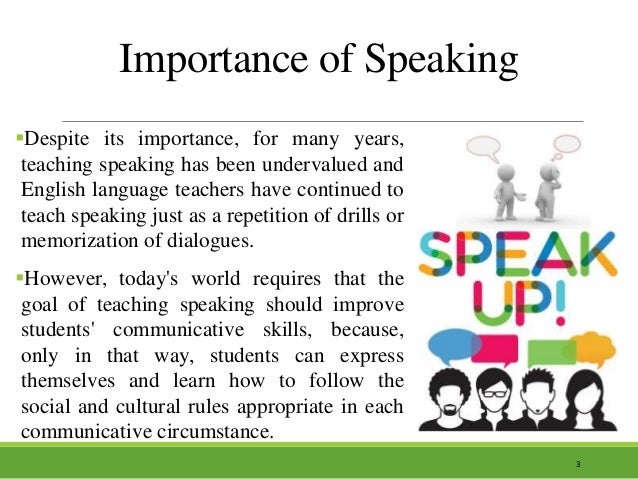 importance of english language What is the importance of teaching english in schools the general aim of teaching english as a foreign language is to develop the following abilities or general.
