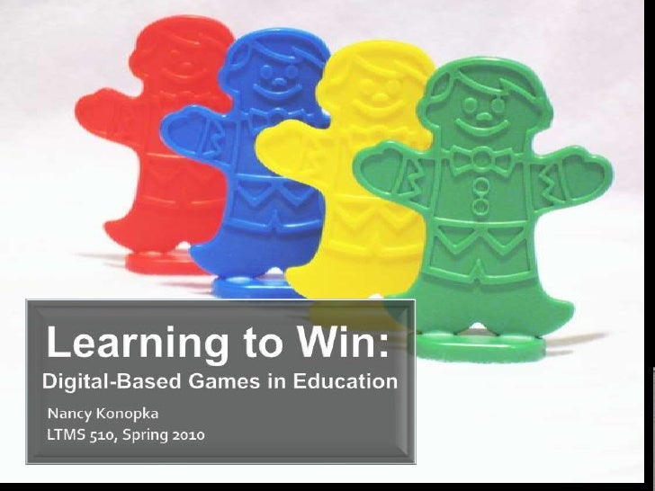 Learning to Win: Digital Based Games in Education