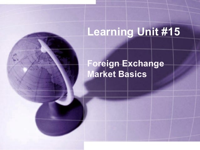 Basics Of Dealer On Forex Market