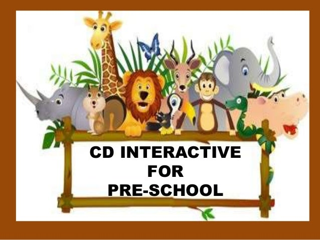 CD INTERACTIVE FOR PRE-SCHOOL
