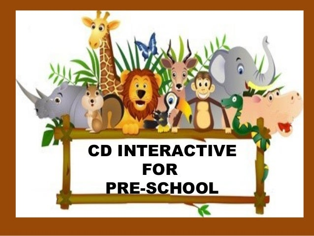 CD INTERACTIVE FOR PRE-SCHOOL