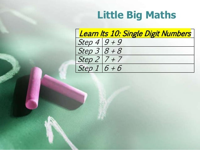 Big Maths, Beat That! - Mathematics Shed