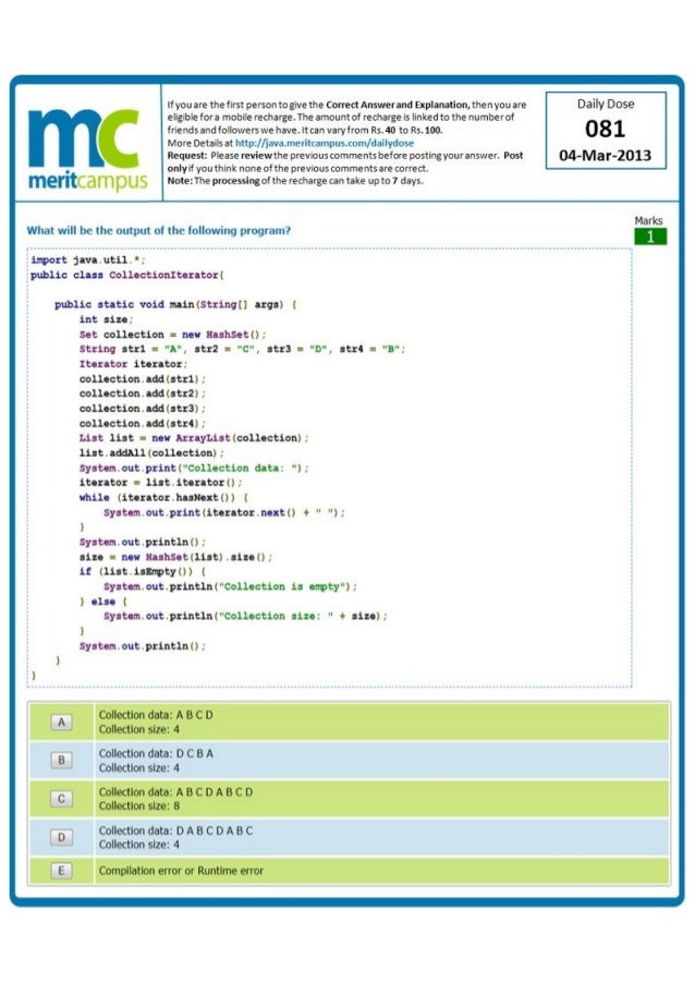 Java Programming Interview Questions - JournalDev