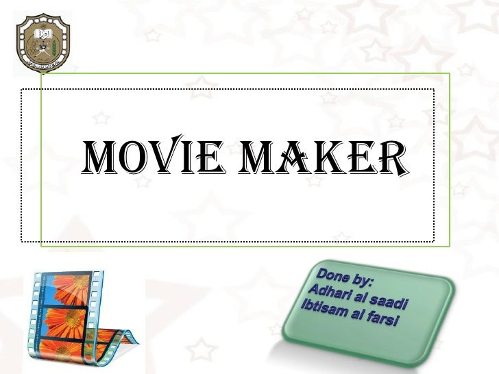 Learn more a bout movie maker