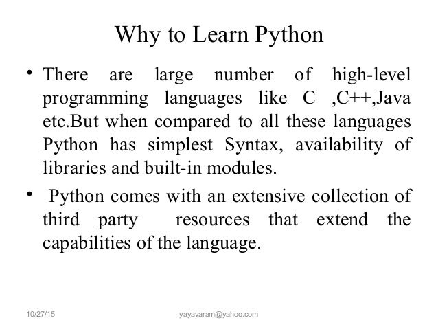 Learn python programming in 6 months?