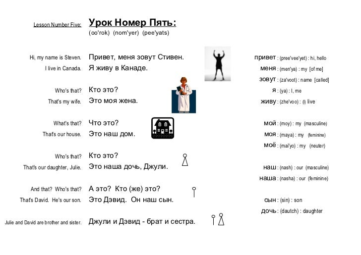 Learn Russian FAST - Lesson 5