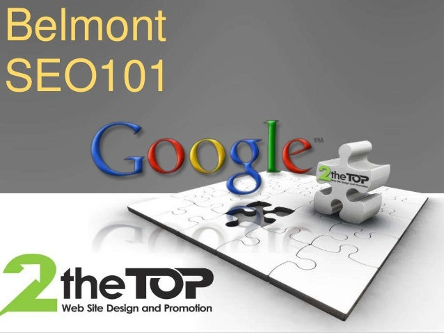 Learn SEO - Belmont University Dr Simmons Class