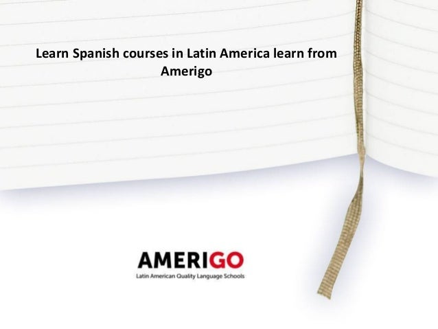 how to learn spanish in america