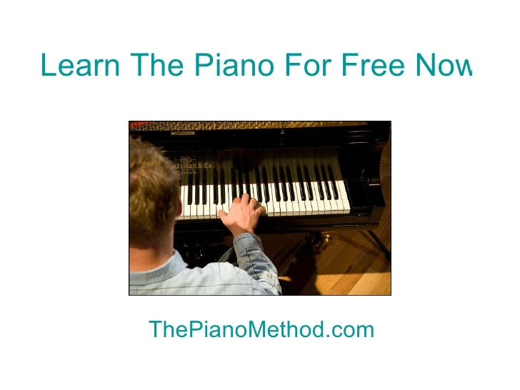 how to learn piano fast for free