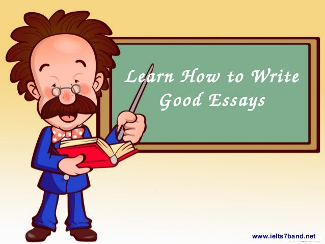 Learn how to write an essay
