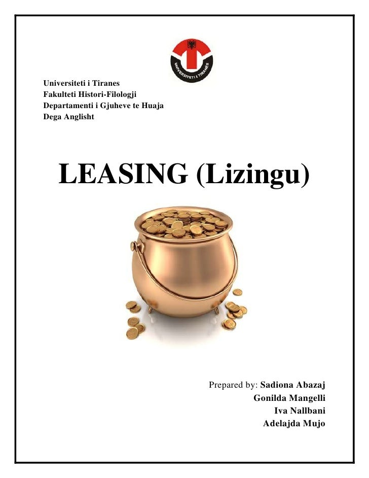 Leasing by SADIONA ABAZAJ