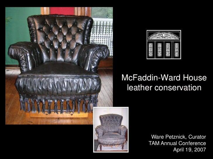 Leather Restoration For Tam